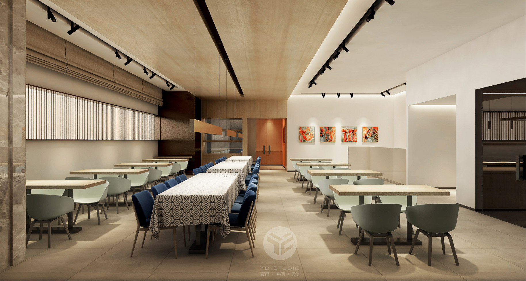 餐厅-家装整套方案设计