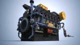 三维动画 发动机