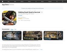 【Walking Dead: Road to Survival 】IOS游戏开发