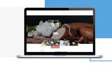 食品企业网站定制开发
