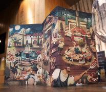 32款国外创意餐厅漂亮的菜单设计欣赏