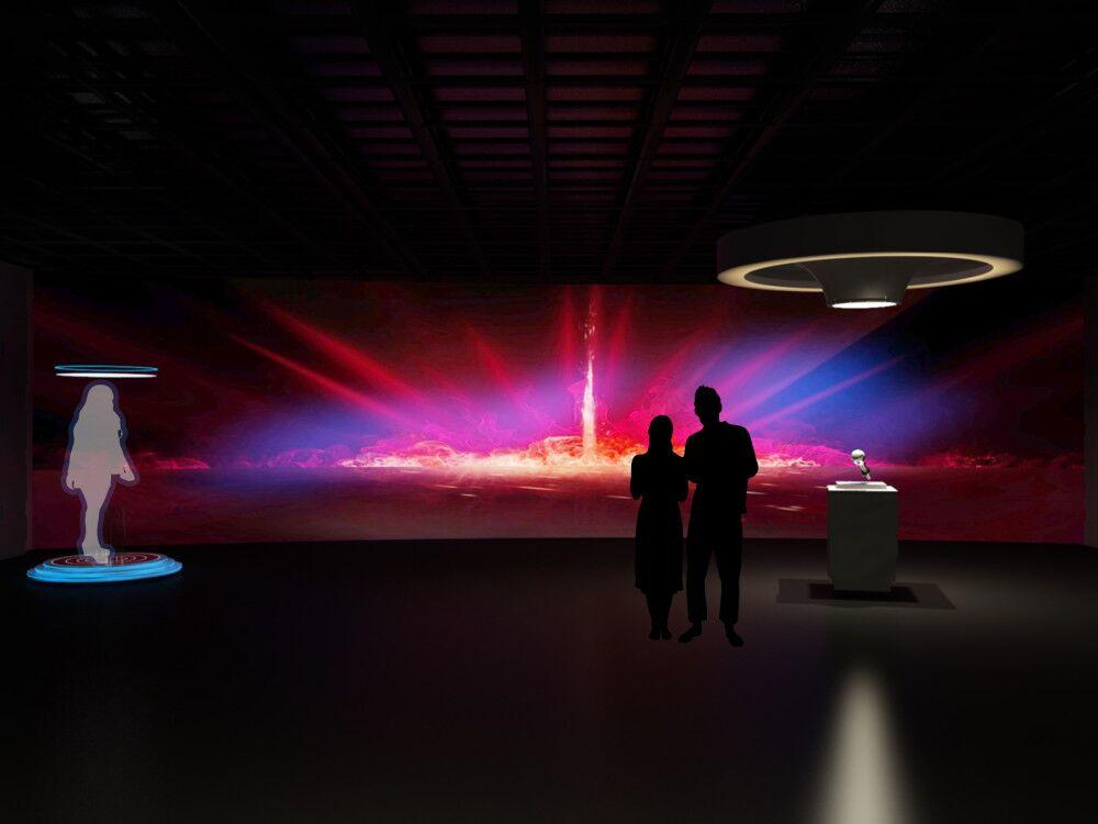 声音博物馆展厅效果图3