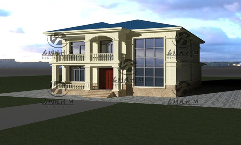 工业智造/建筑/装修-建筑设计12米×14米二层