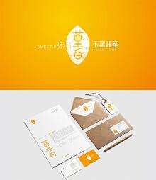 玉薯翡蜜品牌设计