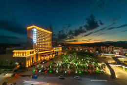 洛南华阳国际饭店设计案例