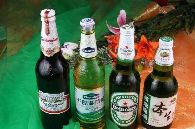 保健啤酒绿色包装设计