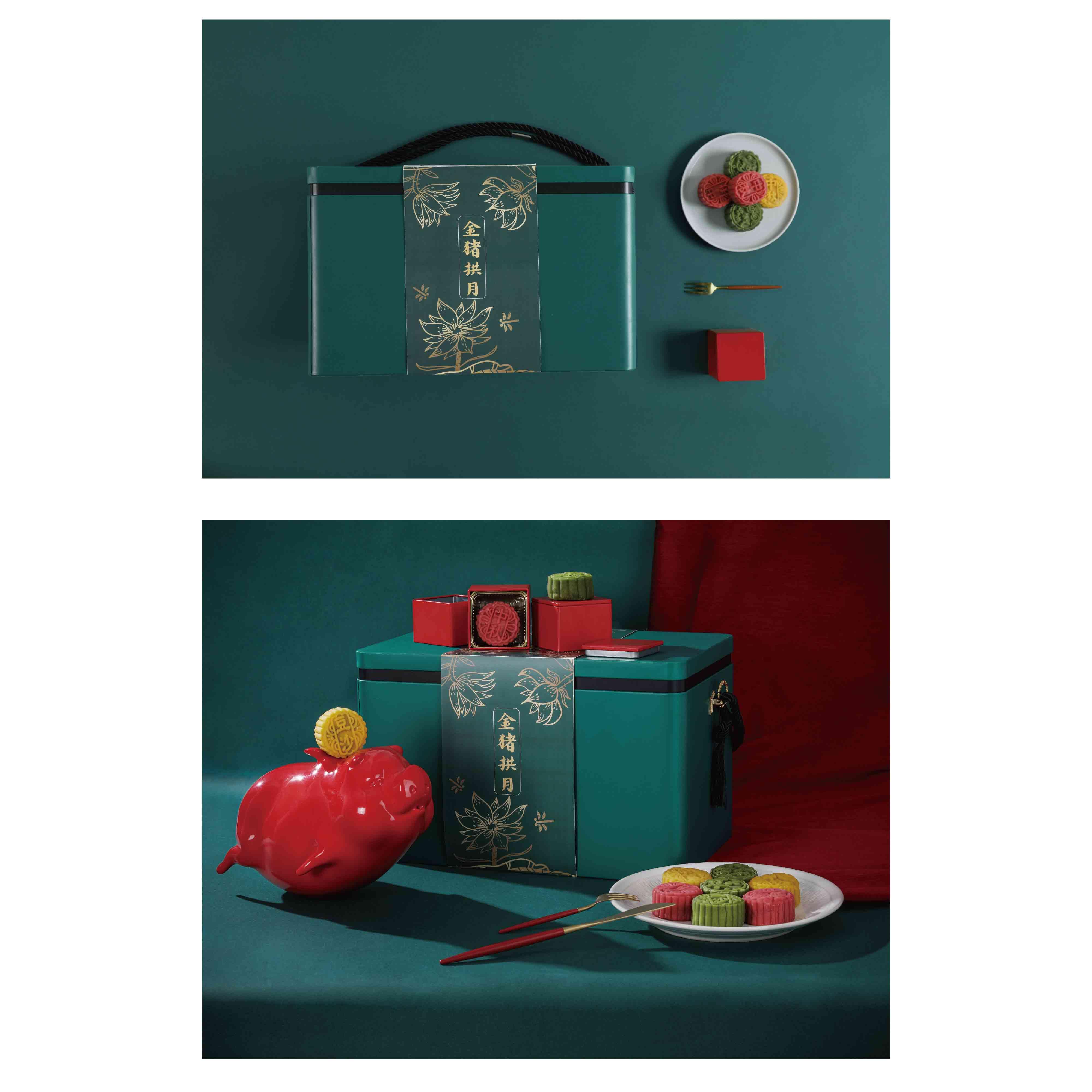 飞猪月饼礼盒设计与生产