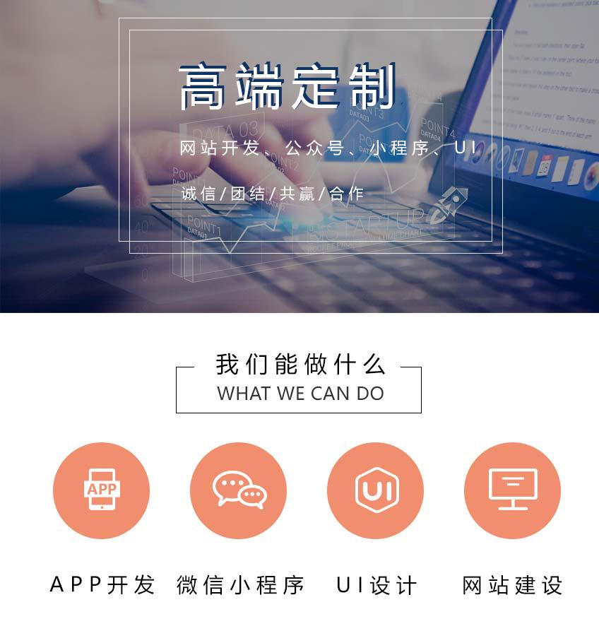 高端企业网站定制开发