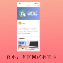官小-(官方小程序,对标官方网站。支持企业、个人、工作室)