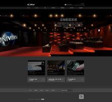 CAV音箱网站设计