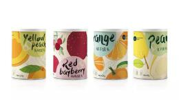 什么样的包装设计风格最适合水果罐头?