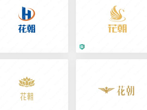 服装行业:【花朝】logo设计案例分享