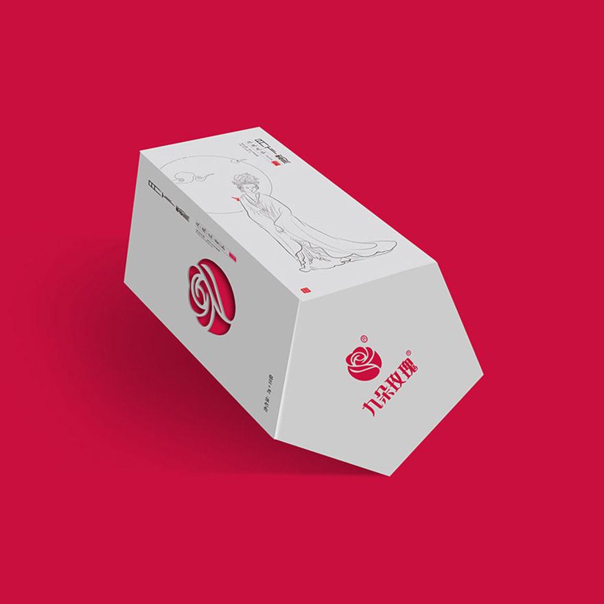 九朵玫瑰——玫瑰花茶系列包装
