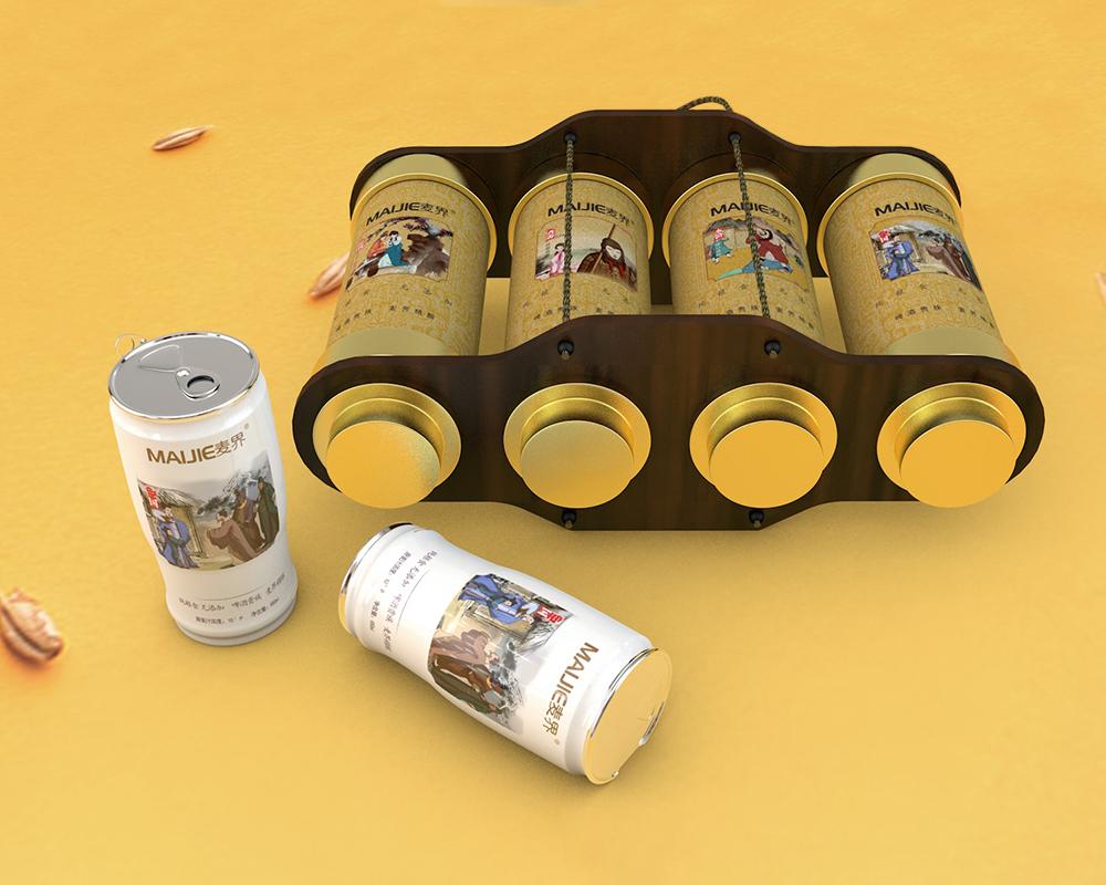 史无前例的啤酒包装设计欣赏
