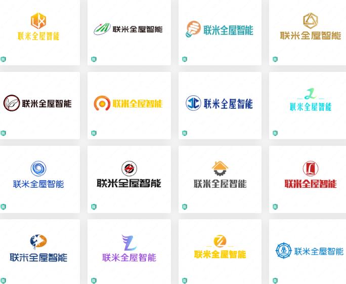 智能家电行业logo设计案例合集: 联米全屋智能