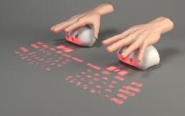 概念投影键盘Lumiquitous 鼠标投影键盘设计欣赏