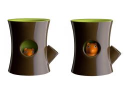 创意松鼠花盆设计欣赏 松鼠小花盆创意工业设计